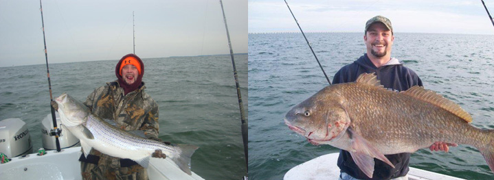 Saltwater fishing citations only guide service james for James river fishing